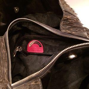 Jane August Bags - Jane August brown leather satchel
